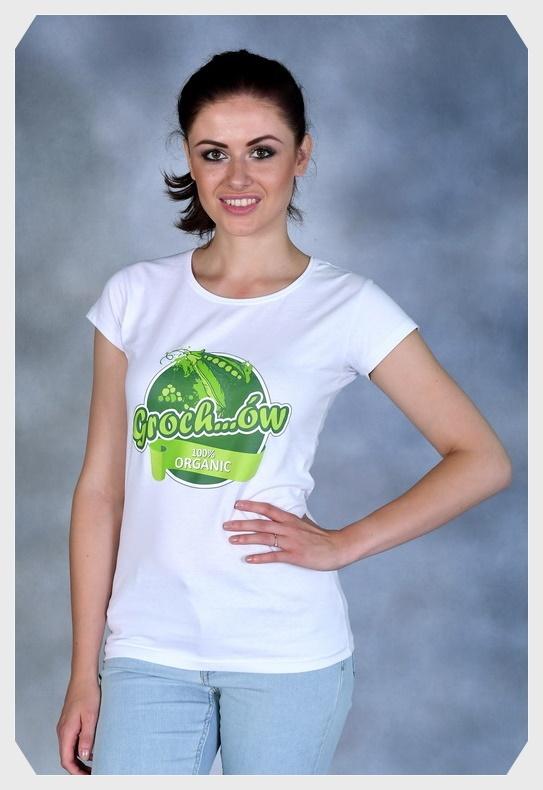 GROCHÓW ORGANIC damska biała
